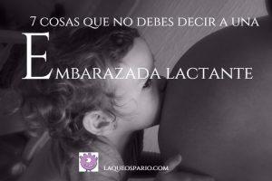 embarazada lactante
