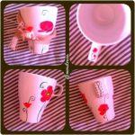 Pintar una taza para el día de la madre