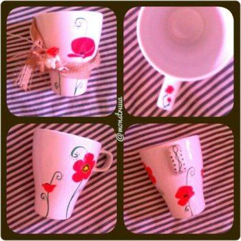 Pintar una taza madre