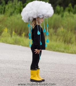 Disfraces baratos para carnaval lluvia