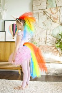 Disfraces baratos para carnaval unicornio