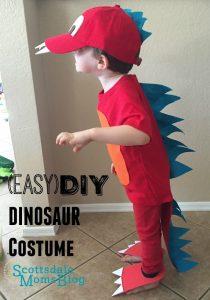 Disfraces baratos para carnaval dinosaurio