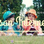 ¿Es bueno cuando los niños usan internet?