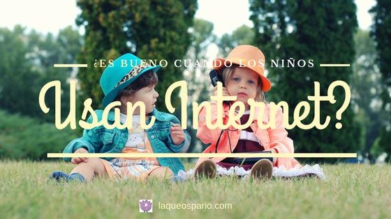 niños usan internet