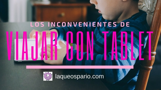 Viajar con tablet